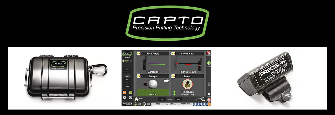 Capto precision putting system analysis - Système d'analyse du putting Capto