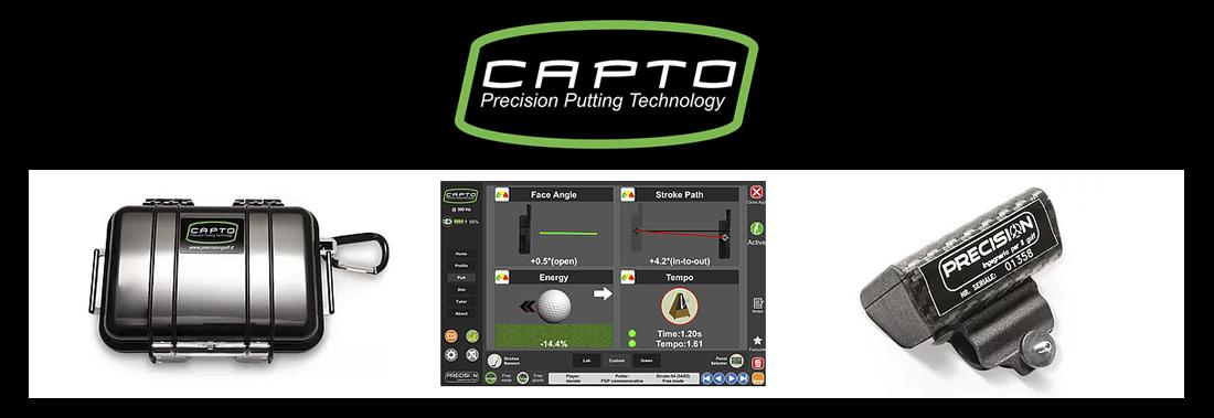 Capto precision putting system analysis - Système d'analyse du putting Capto